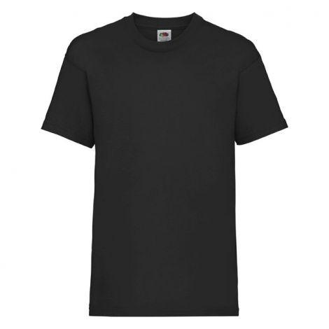 KIDS VALUEWEIGHT T, dečija majica crna
