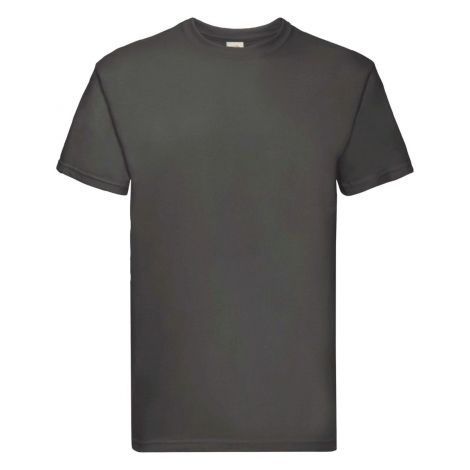 Super Premium Tee Muška majica grafitna siva