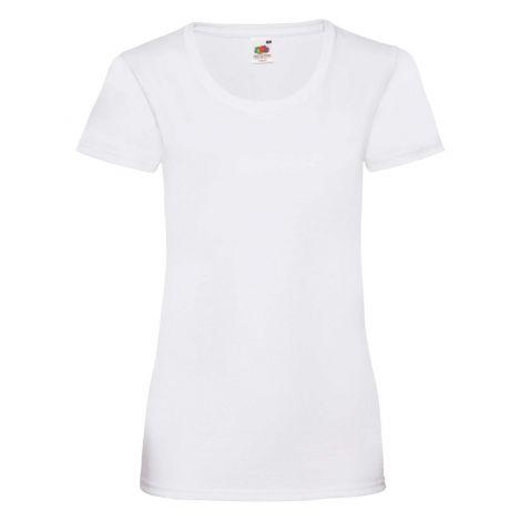 LADIES VALUEWEIGHT T, ženska majica bela