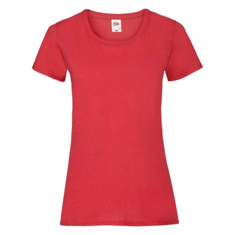LADIES VALUEWEIGHT T, ženska majica crvena
