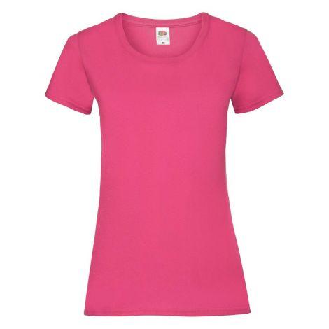 LADIES VALUEWEIGHT T, ženska majica pink