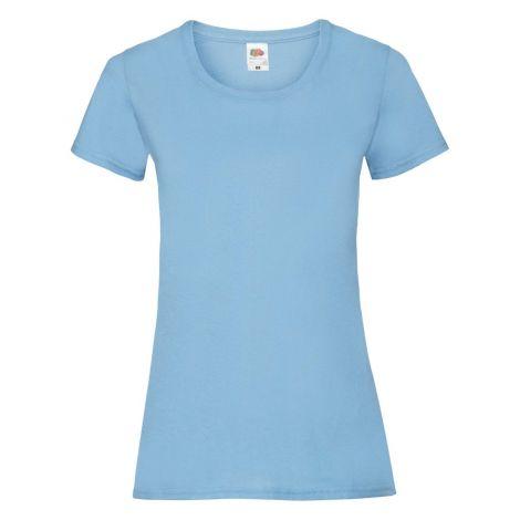 LADIES VALUEWEIGHT T, ženska majica svetlo plava