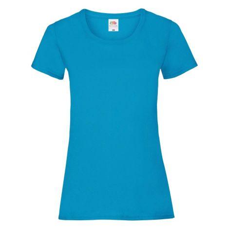 LADIES VALUEWEIGHT T, ženska majica azurna plava