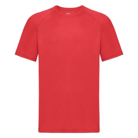 Performance Tee muška majica Crvena