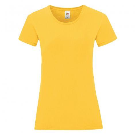 LADIES SOFSPUN T, ženska majica žuta