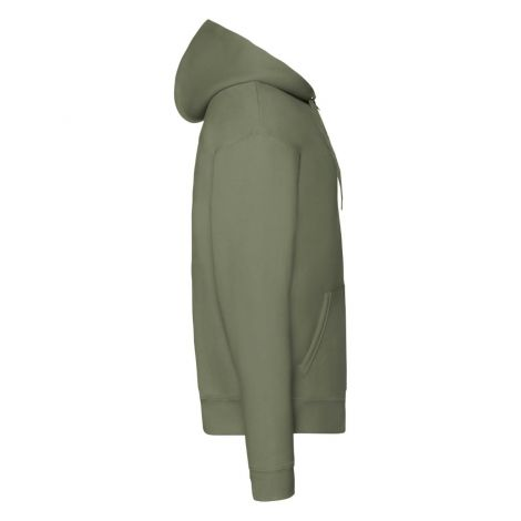 Premium Hooded Sweat Jacket muški duks maslinasto zelena