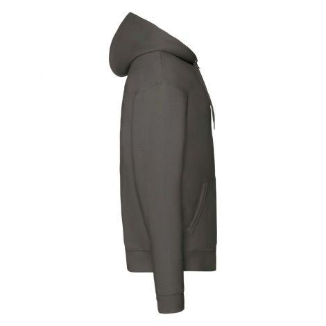 Premium Hooded Sweat Jacket muški duks tamno siva