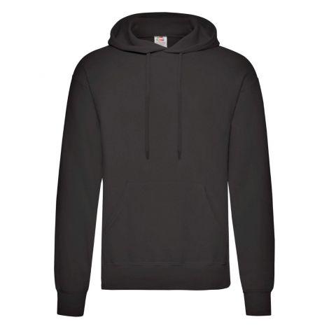 Classic Hooded Sweat Jacket muški duks crna
