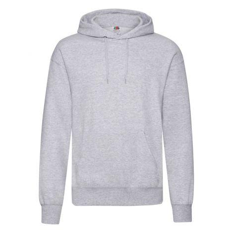 Classic Hooded Sweat Jacket muški duks siva