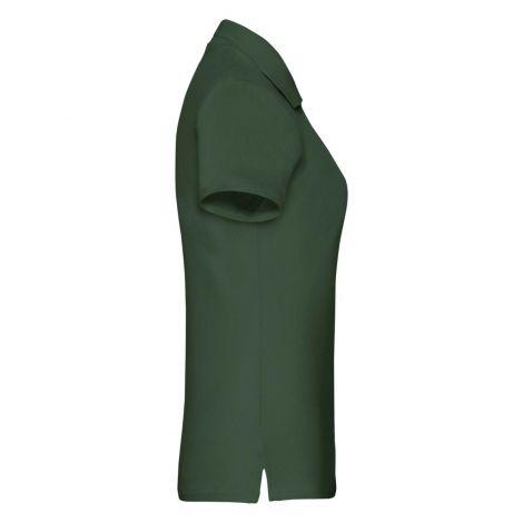 LADIES PREMIUM POLO, ženska polo majica tamno zelena