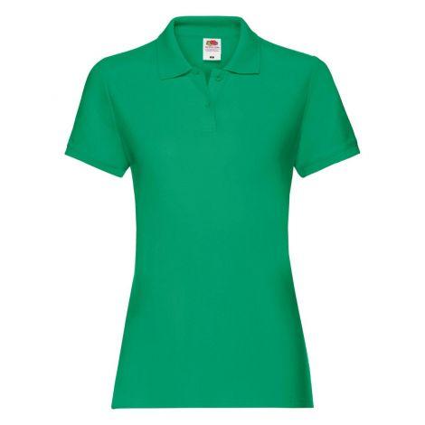 LADIES PREMIUM POLO, ženska polo majica zelena
