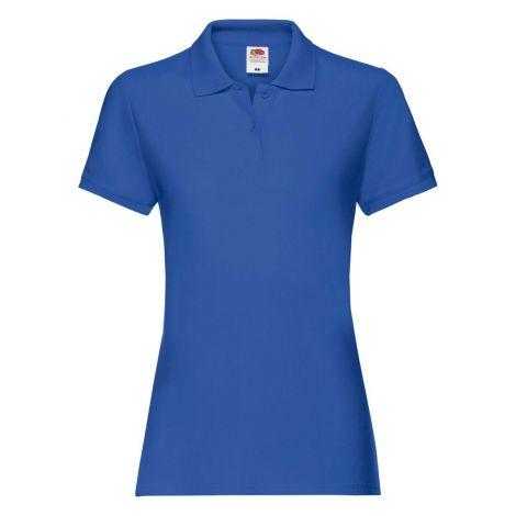 LADIES PREMIUM POLO, ženska polo majica svetlo plava