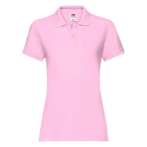 LADIES PREMIUM POLO, ženska polo majica pink