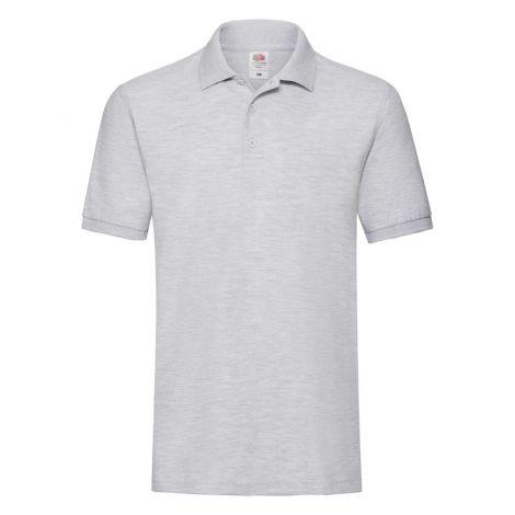 Premium Polo muška majica pepeljasto siva