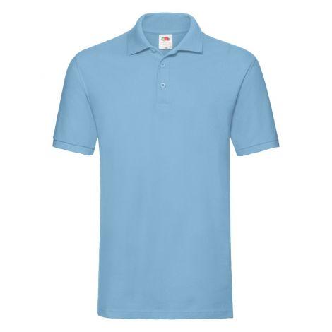 Premium Polo muška majica svetlo plava