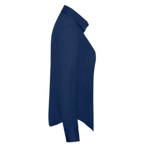 LADIES OXFORD SHIRT LONG SLEEVE, ženska košulja teget