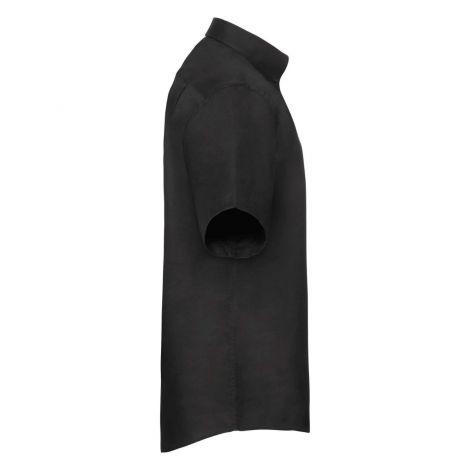 OXFORD SHIRT SHORT SLEEVE muška košulja crna