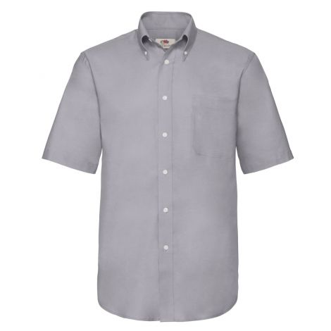 OXFORD SHIRT SHORT SLEEVE muška košulja siva