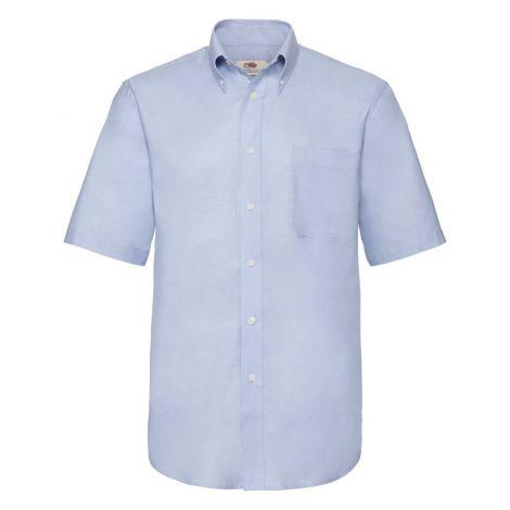 OXFORD SHIRT SHORT SLEEVE muška košulja plava