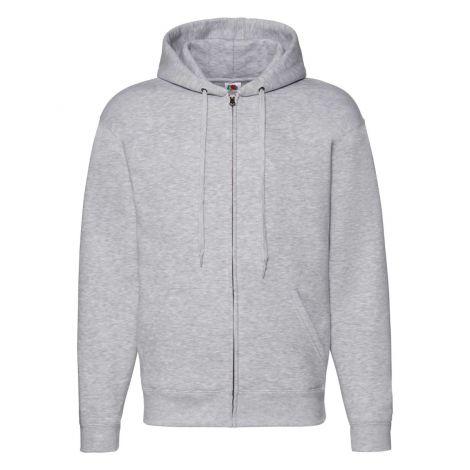 Premium Hooded Sweat Jacket muški duks pepeljasto siva