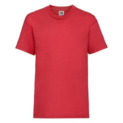 KIDS VALUEWEIGHT T, dečija majica crvena
